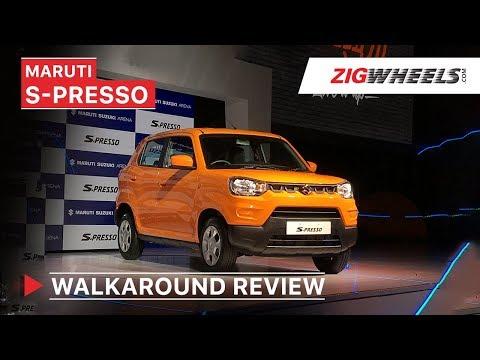 Maruti Suzuki S-Presso Launched In India | Walkaround Review | Price, Features, Interior & More