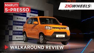 Maruti Suzuki S-Presso Launched In India | Walkaround Review | Price, Features, Interior & More