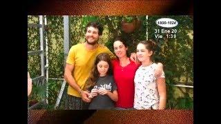 Una joven familia italiana recorre América en bicicleta