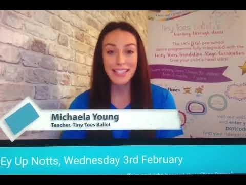 Notts TV News Report: Tiny Toes Ballet 8 Week Free Lockdown Programme
