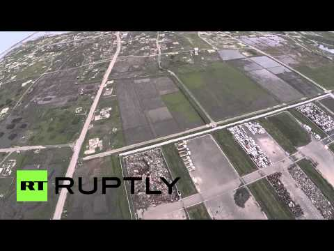 Flying over Fukushima: Spooky drone footage of abandoned nuke station