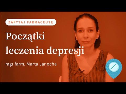 Początki leczenia depresji #ZapytajFarmaceutę