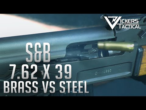 S&B 7.62x39 - Brass Vs Steel Case