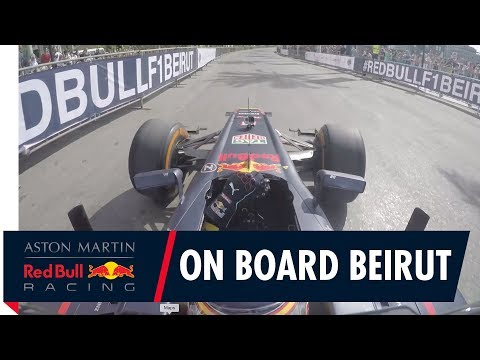 On Board with Carlos Sainz in Beirut!