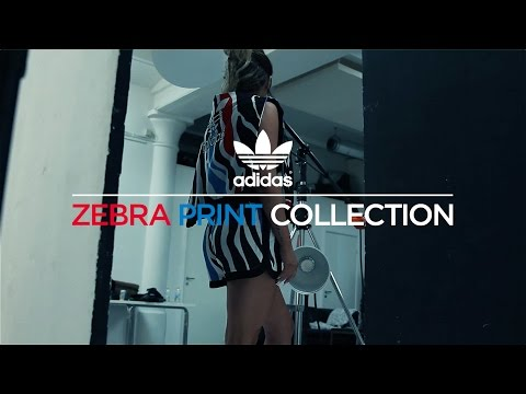 Behind The Scenes: Photoshoot with Fanny Lyckman for the adidas Zebra Collection