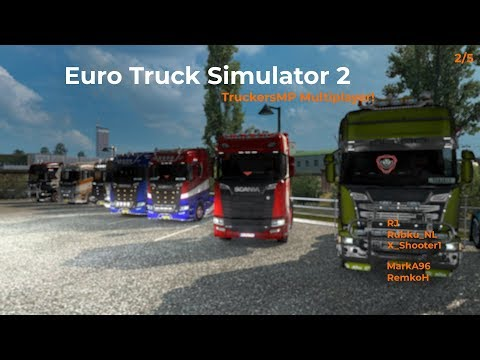 Euro Truck Simulator 2  TruckersMP  Part 25 Livestream 02122017