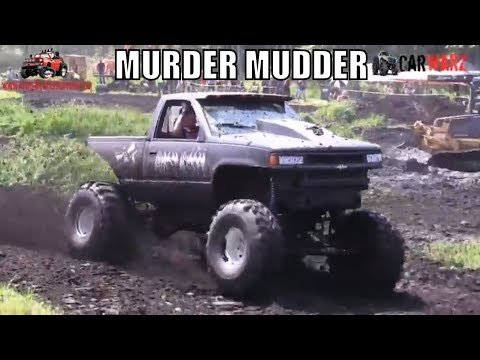 MURDER MUDDER Chevy At Perkins Summer Sling Mud Bog 2018