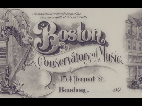 Boston Conservatory at Berklee - Music Division History