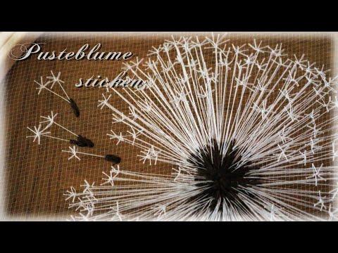 Pusteblume sticken * DIY * Dandelion Embroidery