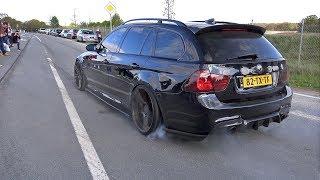 Supercars Accelerating LOUD! 900HP BMW 335i, Aventador, F12 TDF, C63
