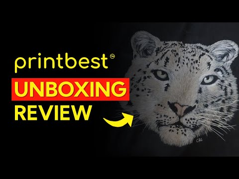 PrintBest Review Unboxing – Gildan T-Shirt G640 ( Print On Demand T-Shirt Business)