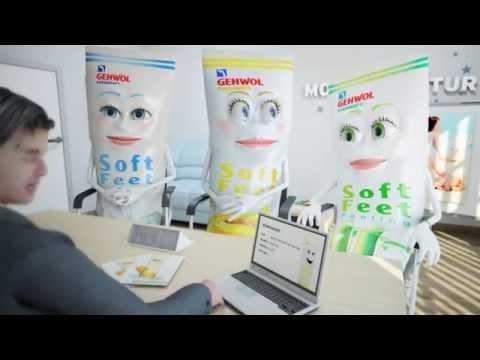 Die Fußpflegestars: GEHWOL FUSSKRAFT Soft Feet Peeling, Creme und Lotion