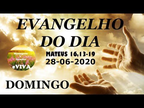 EVANGELHO DO DIA 28/06/2020 Narrado e Comentado - LITURGIA DIÁRIA - HOMILIA DIARIA HOJE