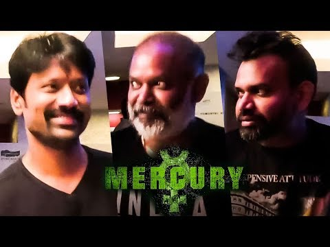 Mercury Celebrity Reactions | Karthik Subbaraj | Prabhu Deva