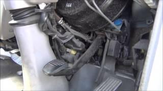 Hino Truck, Brake/Clutch problem, Possible lack of Vacuum
