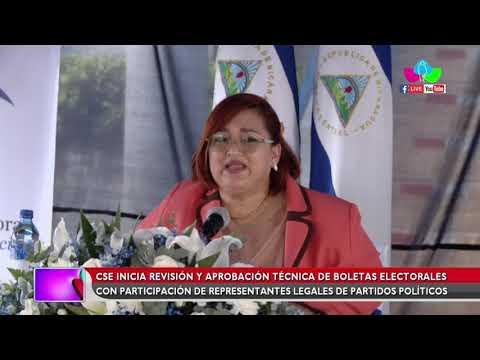 CSE inicia proceso de revisión y aprobación técnica de las boletas electorales