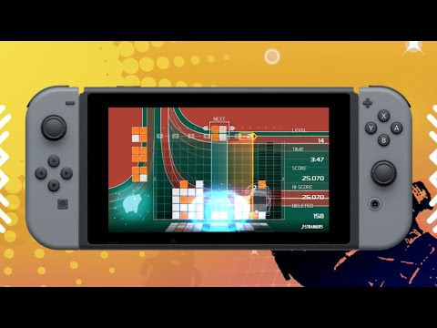 connectYoutube - Lumines Remastered - Nintendo Switch Announcement Trailer