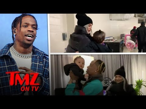 Travis Scott Going All Out for Kylie Jenner and Stormi's Safety on Tour | TMZ TV
