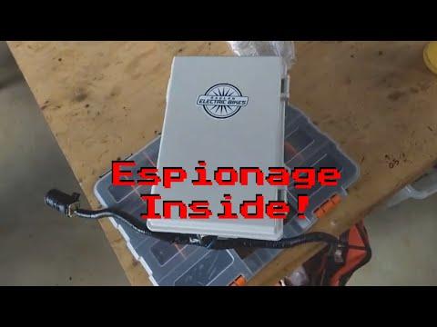 Leaf Battery Data Espionage