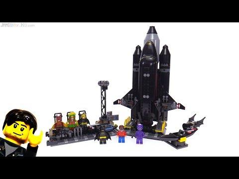 connectYoutube - LEGO Batman Movie: The Bat-Space Shuttle reviewed! 70923
