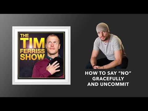 """How to Say """"No"""" Gracefully and Uncommit 