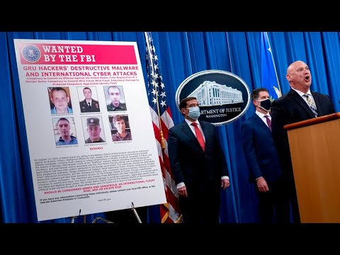 Wanted by the FBI: Six former and current russian agents charged for global cyber attacks