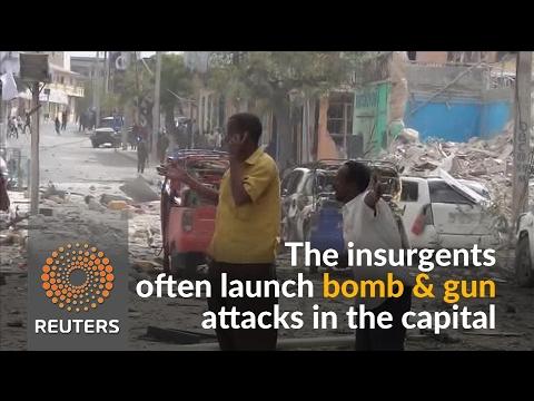 Explosions in Somali capital kill over a dozen