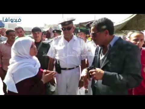 بالفيديو: مدير أمن الإسماعيلية يقوم بحملة أمنية موسعه بسوق الجمعة لمراقبة الأسعار