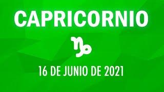 ? Horoscopo De Hoy Capricornio - 16 de Junio de 2021