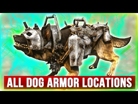 Fallout 4 ALL Armor Locations for Dogmeat! - VIDEOGAME GUIDE