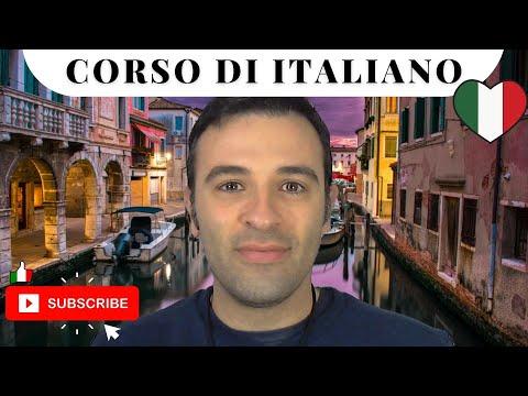 Curso de Italiano Básico 5 - Frases en Italiano con el Verbo Querer - Aprender Italiano Gratis
