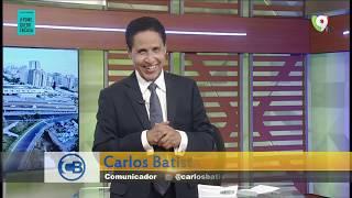 Carlos Batista dice en RD no quieren respetar el toque de queda | Con los Famosos