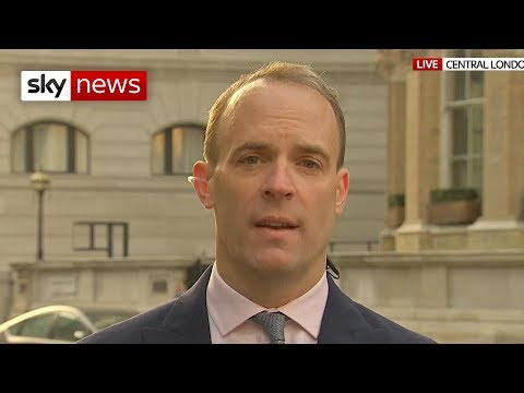 Dominic Raab: If a deal can't be agreed, we shouldn't be afraid of no deal