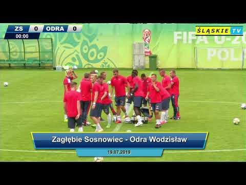 Sparing: Zagłębie Sosnowiec - Odra Wodzisław [cały mecz]