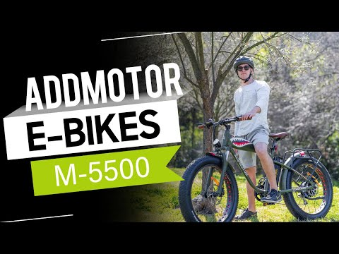 Addmotor MOTAN M-5500 1000W Hunting Electric Bike Flying Tiger