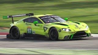 New Aston Martin Vantage GTE 2018 Testing at Monza Circuit!