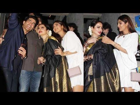 Divas Shilpa Shetty & Rekha BOND At Jitesh Pillai's Birthday Party
