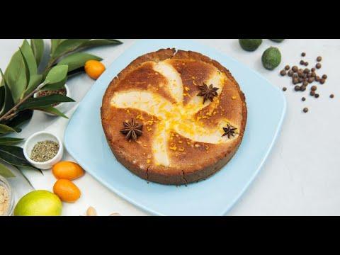 Безглютеновый грушевый пирог | Исключительная еда
