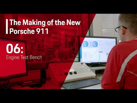 The Making of the New Porsche 911 (E06) - Engine Test Bench