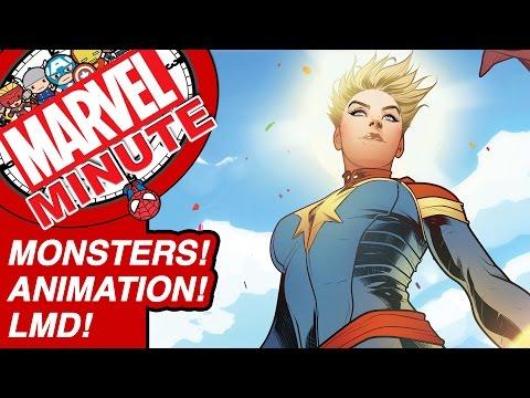 Monsters! Animation! LMD! - Marvel Minute 2017