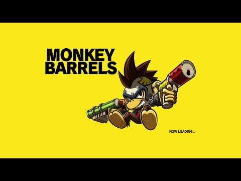 Jugando a MONKEY BARRELS en directo