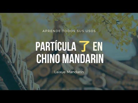 Lección #35: Partícula 了 (le) en chino mandarín.
