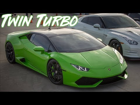 UGR TT Huracan vs Godzilla GTR - INSANELY Close Race!