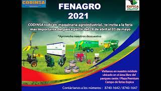 CODINSA EN FERIA EXPICA  -  FENAGRO 2021