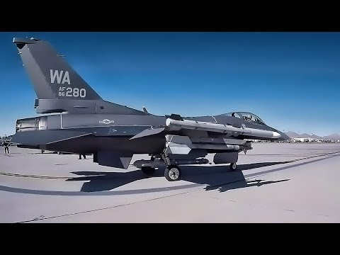 F-16 Flightline At Red Flag 18-1 + Aggressors