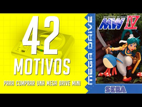 Monster World IV. 42 motivos para comprar una Mega Drive Mini. (38/42)