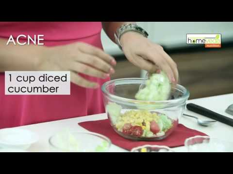 Treat Acne With Nutrition - Homeveda