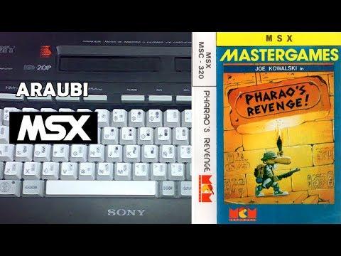 Pharao's Revenge (Eurosoft, 1988) MSX [682] Walkthrough Comentado