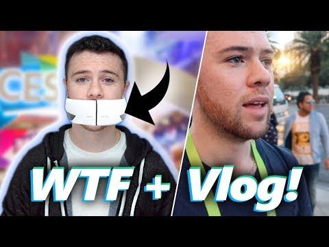 WTF Tech @ CES 2018 + My Vlog