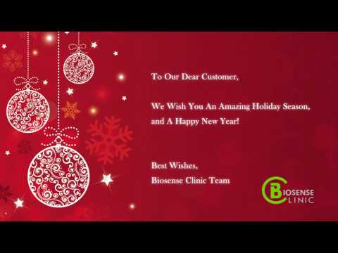 Season's Greeting from Biosense Clinic